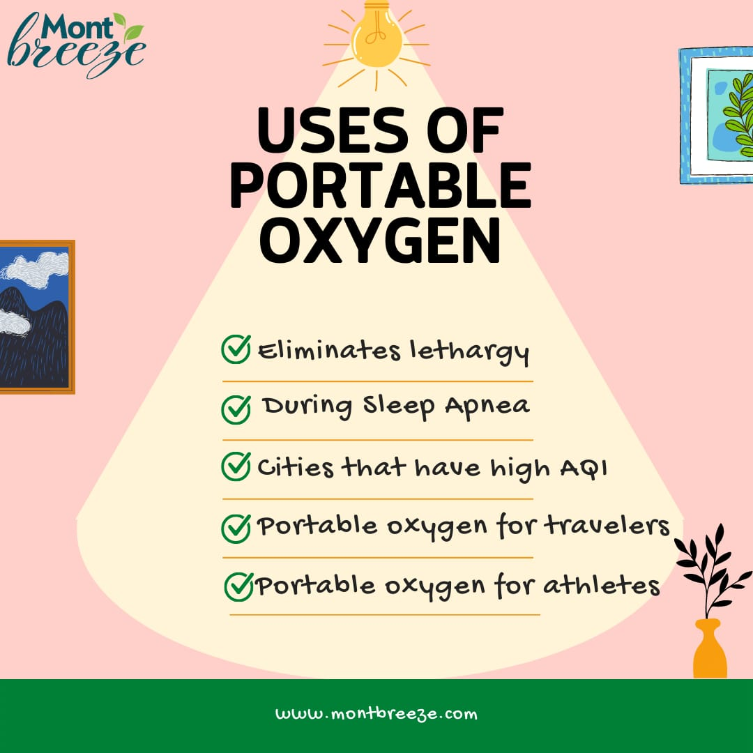 #5 Uses of portable oxygen you probably didn't know about