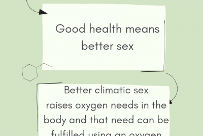 Oxygen for sex performance